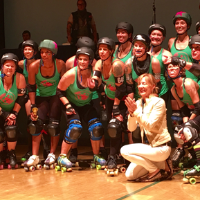 Organic Panic Roller Derby Girls