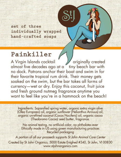 Painkiller Soap Set (this Item Is Currently Unavailable)