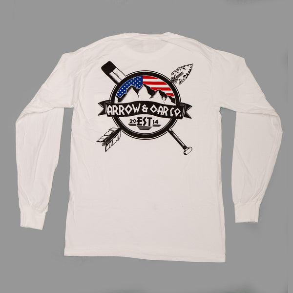 Stars and Stripes Pocket Long Sleeve