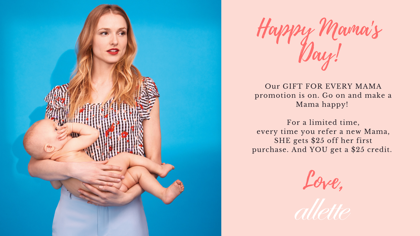 A Gift For Every Mama Promotion