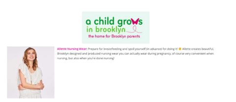 ALLETTE ON A CHILD GROWS IN BROOKLYN