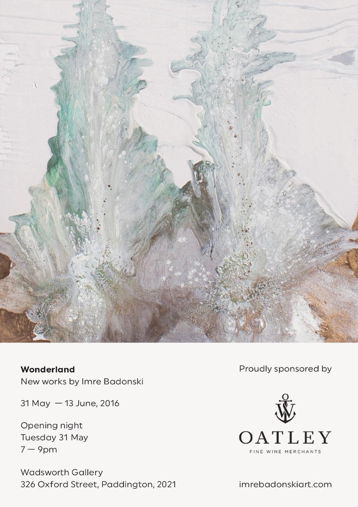 Opening night: Tuesday, 31 May 7 - 9pm