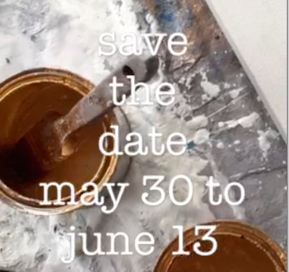 Save the date, May 30 - June 13