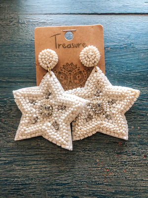 Syris Star Earrings