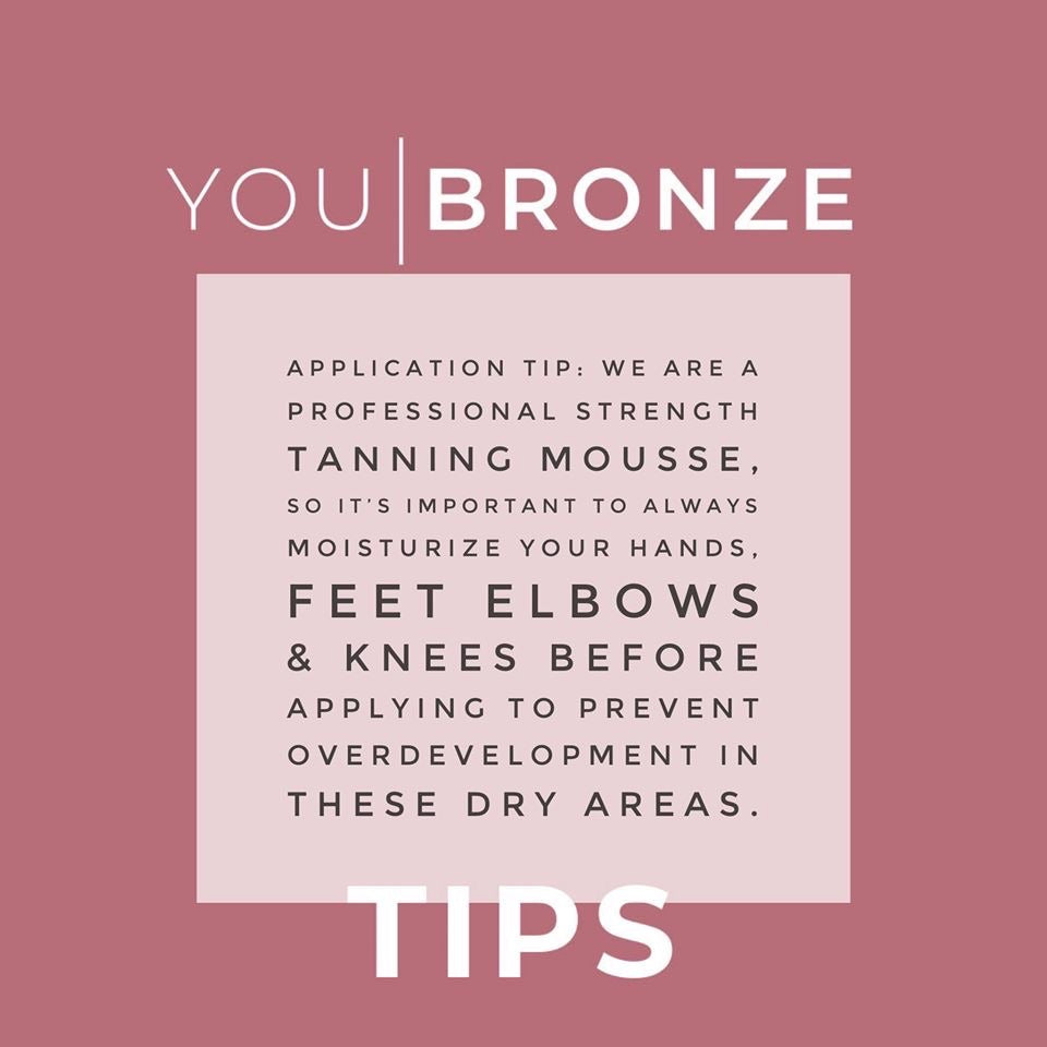You Bronze Self Tanner