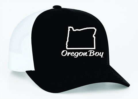 Oregon Boy | Black/White - Oregon Grown