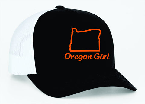 Oregon Girl | Black/Orange - Oregon Grown