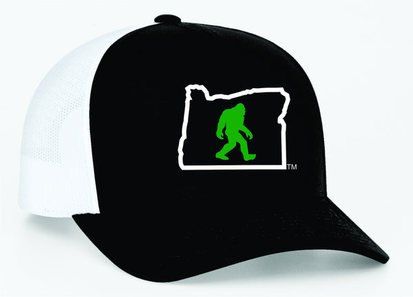 Oregon Squatch | Black/White - Oregon Grown