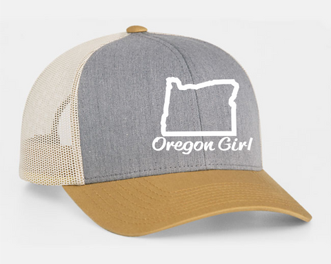 Oregon Girl | Heather/Amber Gold/Beige - Oregon Grown