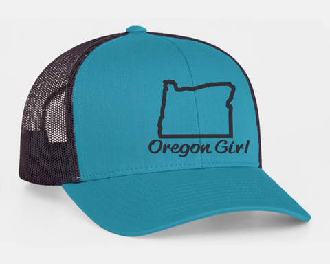 Oregon Girl | Jag Teal / Lt. Charcoal - Oregon Grown