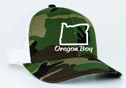 Oregon Boy | Army/White - Oregon Grown
