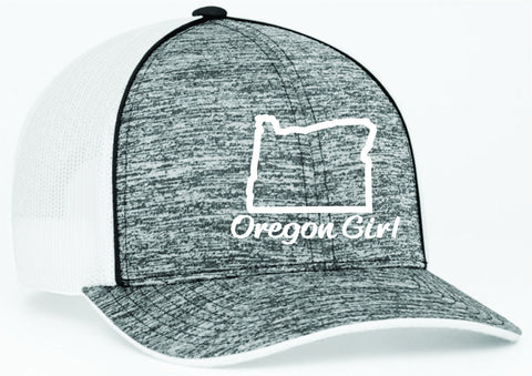 Oregon Girl | Black Heather/White - Oregon Grown