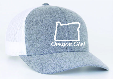 Oregon Girl | Heather/White - Oregon Grown