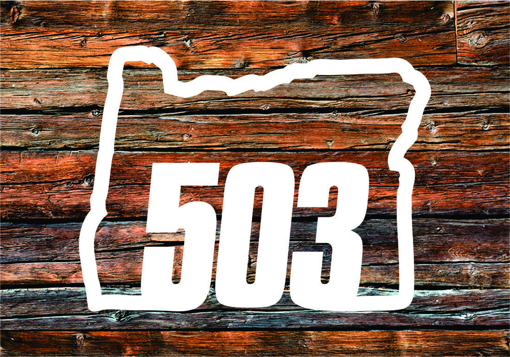 Decal | Oregon 503 - Oregon Grown