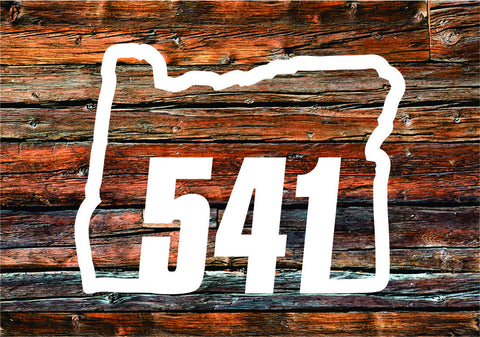 Decal | Oregon 541 - Oregon Grown