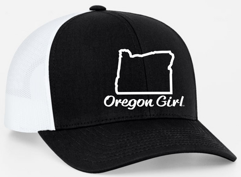 Oregon Girl | Black/White - Oregon Grown