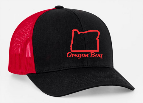 Oregon Boy | Black / Red - Oregon Grown