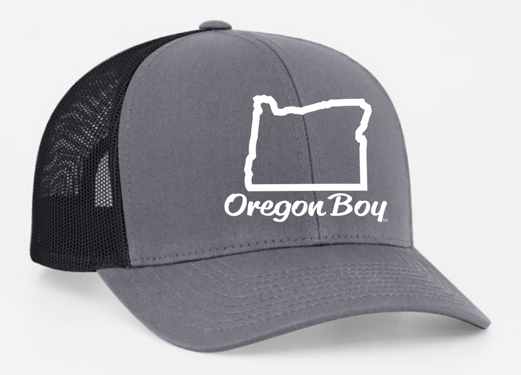 Oregon Boy | Graphite/Black - Oregon Grown