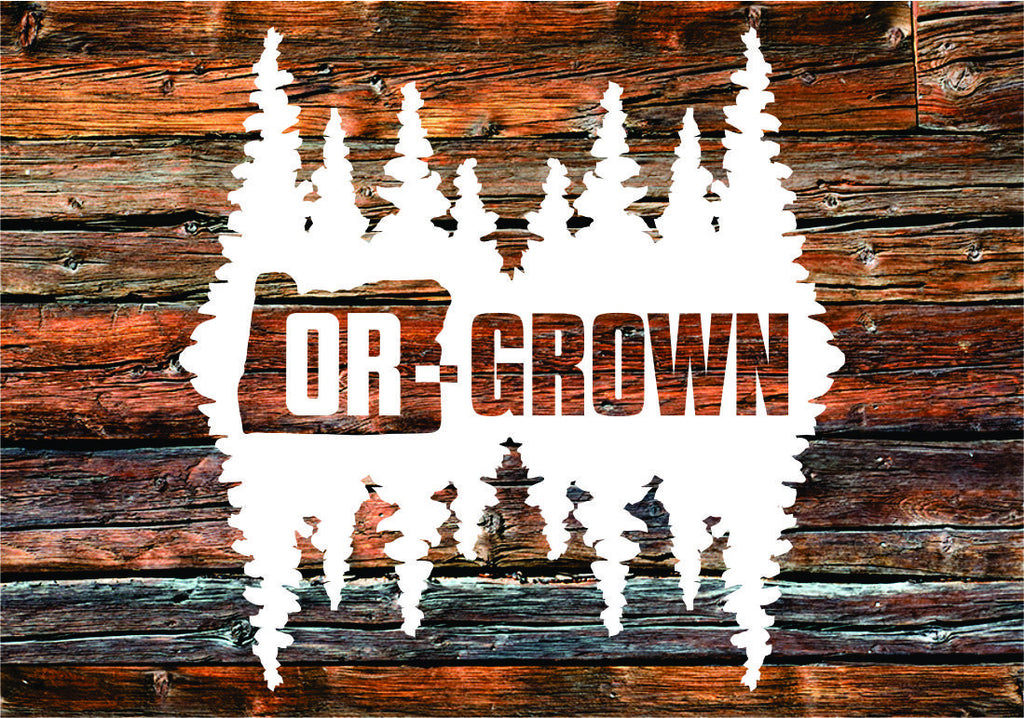 Decal | Or-Grown Reflection - Oregon Grown