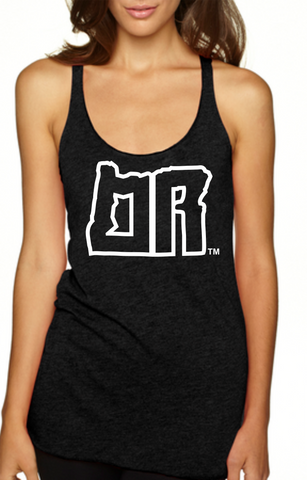 Womens | OR | Tank-Top | Black - Oregon Grown