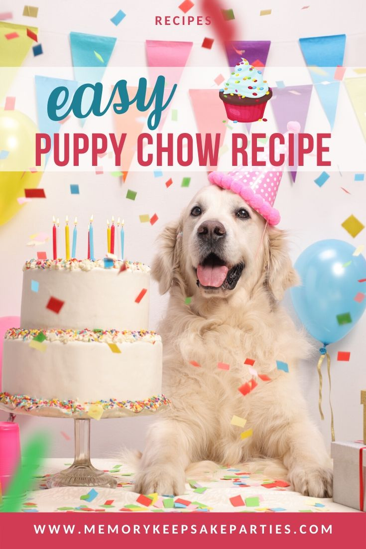 Puppy Chow Party Recipe