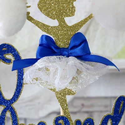 Cheerleader Cake Topper