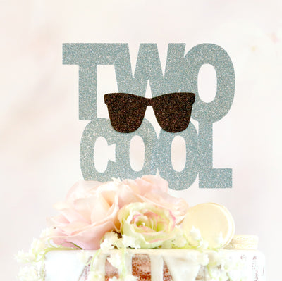 Two Cool Cake Topper