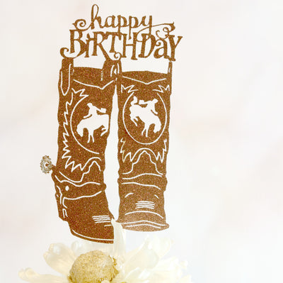 Western Cake Topper