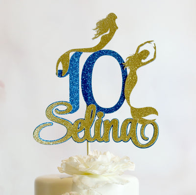 Mermaid Cake Topper