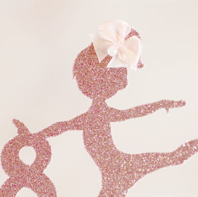 Gymnastics Dancer Cake Topper