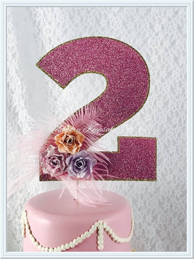 Age Cake Topper - Memory Keepsake Parties