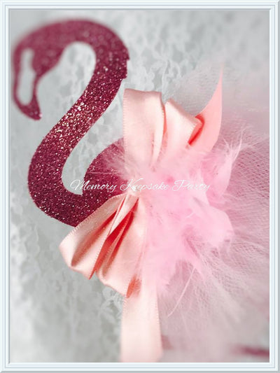 Flamingo Cake Topper