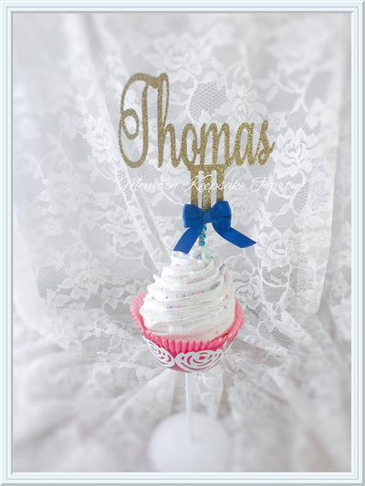 Name Cupcake Toppers