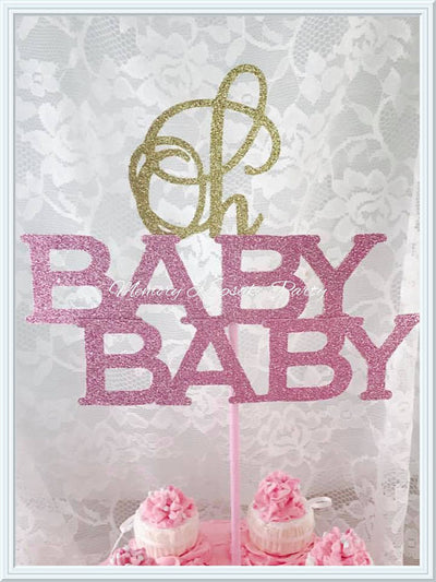 Oh Baby Baby Cake Topper