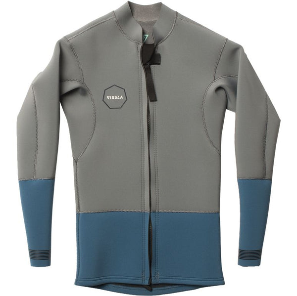 VISSLA 2MM YOUTH FRONT ZIP