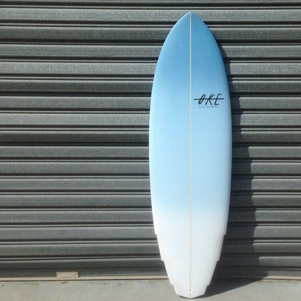 The Gem by Oke surfboards is a small wave weapon and is now available with Afterpay at stpaleseason.com