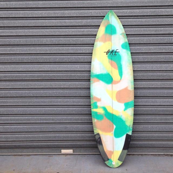 Oke Surfboards Knucklehead now available with Afterpay at stapleseason.com