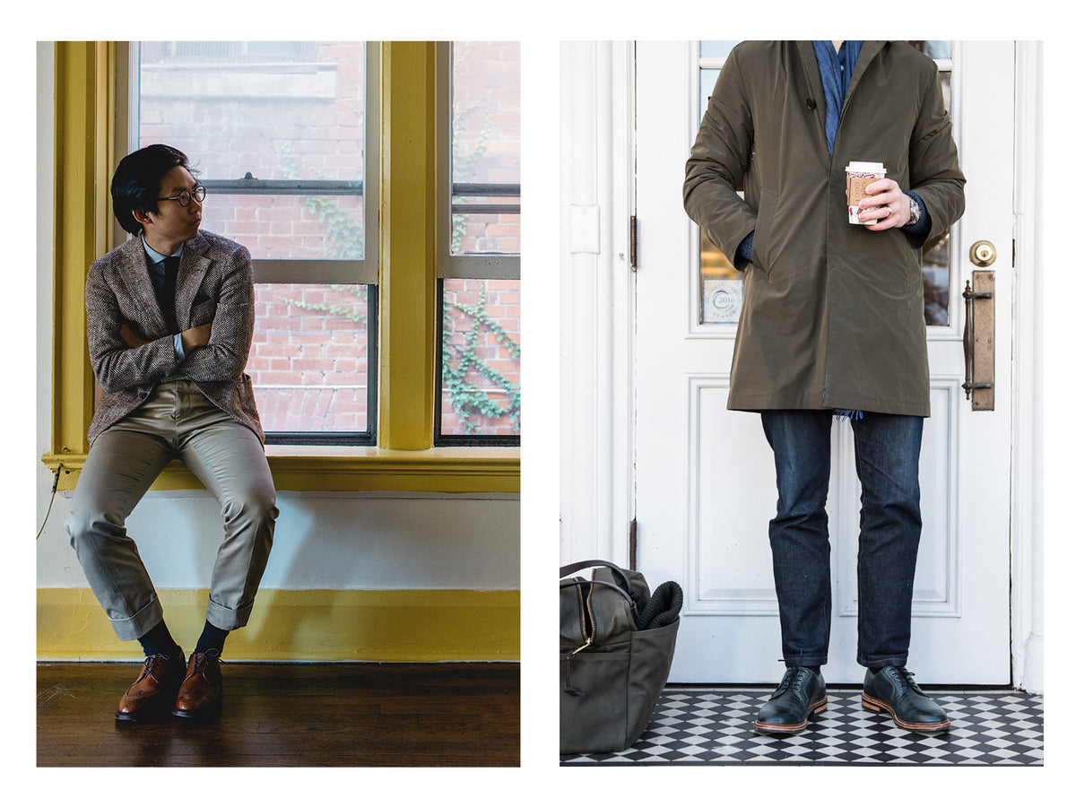Can dress shoes be everyday shoes? Thoughts on a leather shoe's practicality