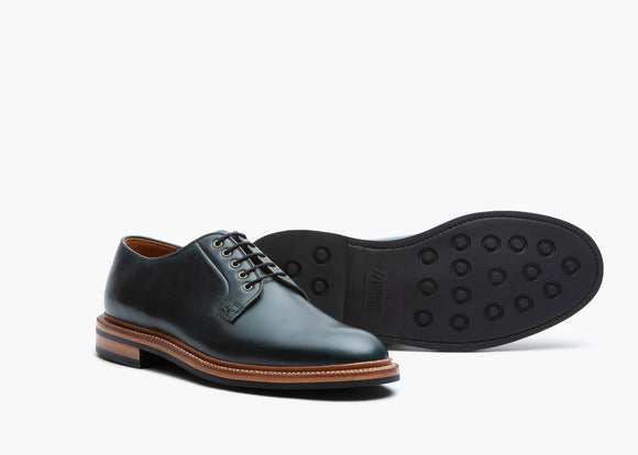 Plain Toe Navy Chromexcel