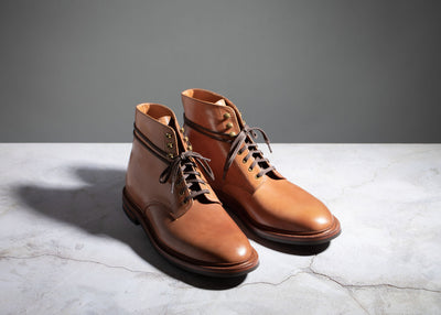 Edward Boot Honey Glazed Shell Cordovan