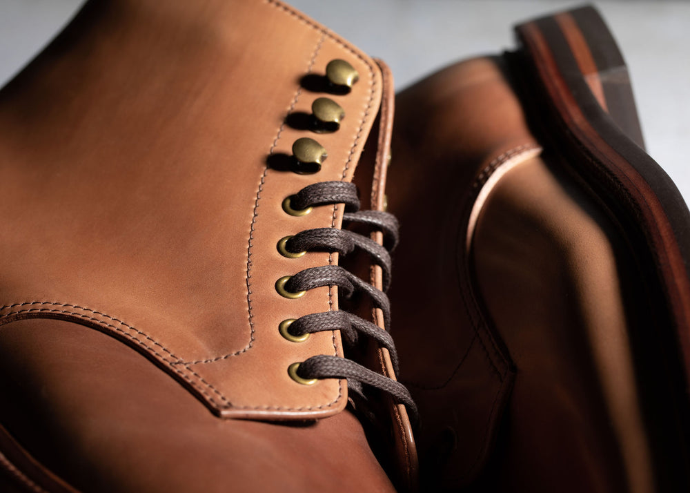 Pre-order - Edward Boot Honey Glazed Shell Cordovan