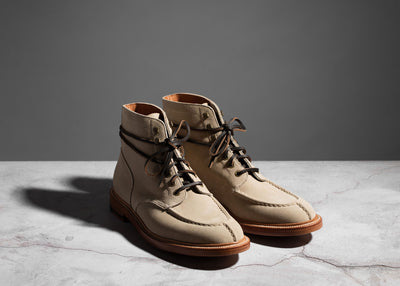 Ottawa Boot Ivory Suede