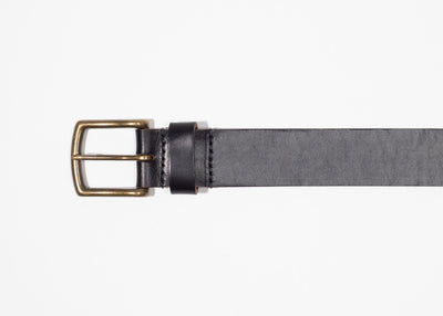 Black Chromexcel Leather Belt
