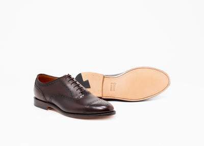 Fairfield Oxford - Chocolate Antique Calf