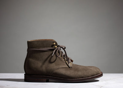 Edward Boot Loden Suede