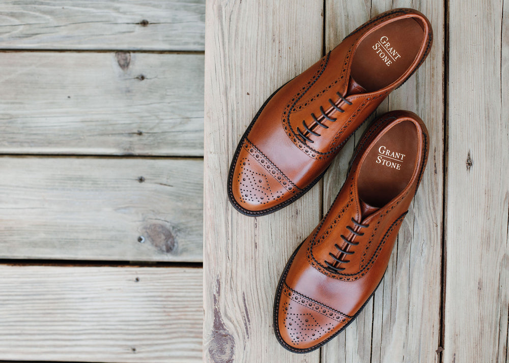 Fairfield Oxford - British Tan