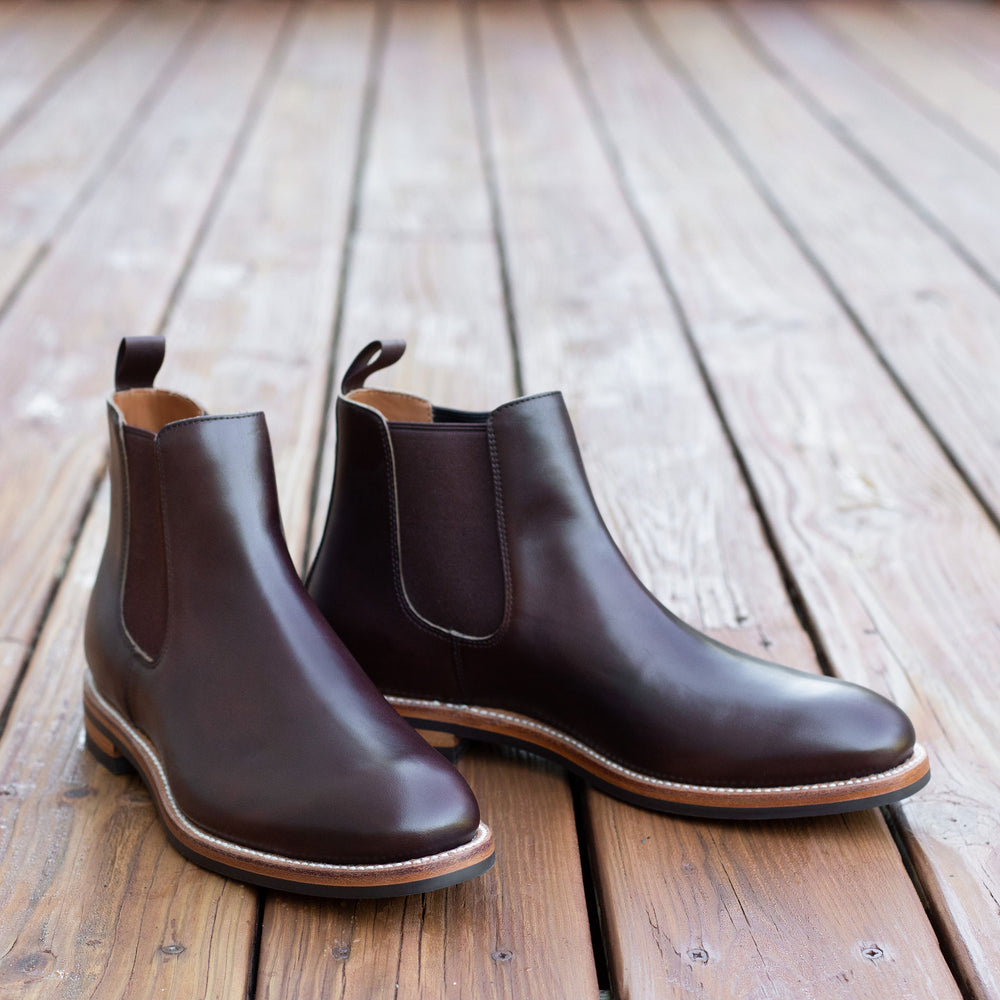 Chelsea Boot - Crimson Chromexcel