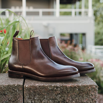 Chelsea Boot - Chocolate Antique Calf