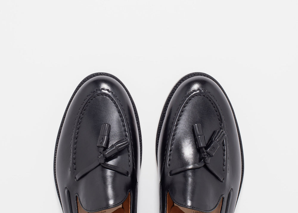 Tassel Loafer Black Calf