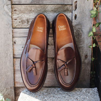 Tassel Loafer Tobacco Calf